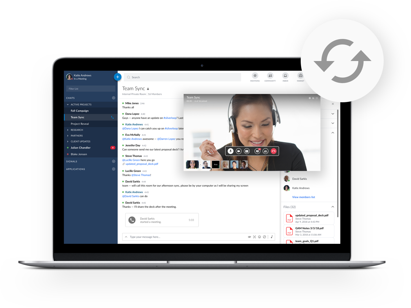Messaging and Productivity: Secure Team Chat & Secure Enterprise Collaboration | Symphony